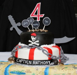 Pirate Cake For Kids