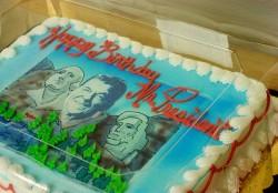 President Day's cake