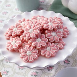 Spritz cookies – flowers