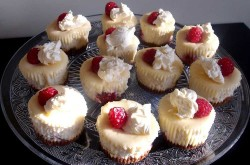 Tasty cheesecake cupcakes