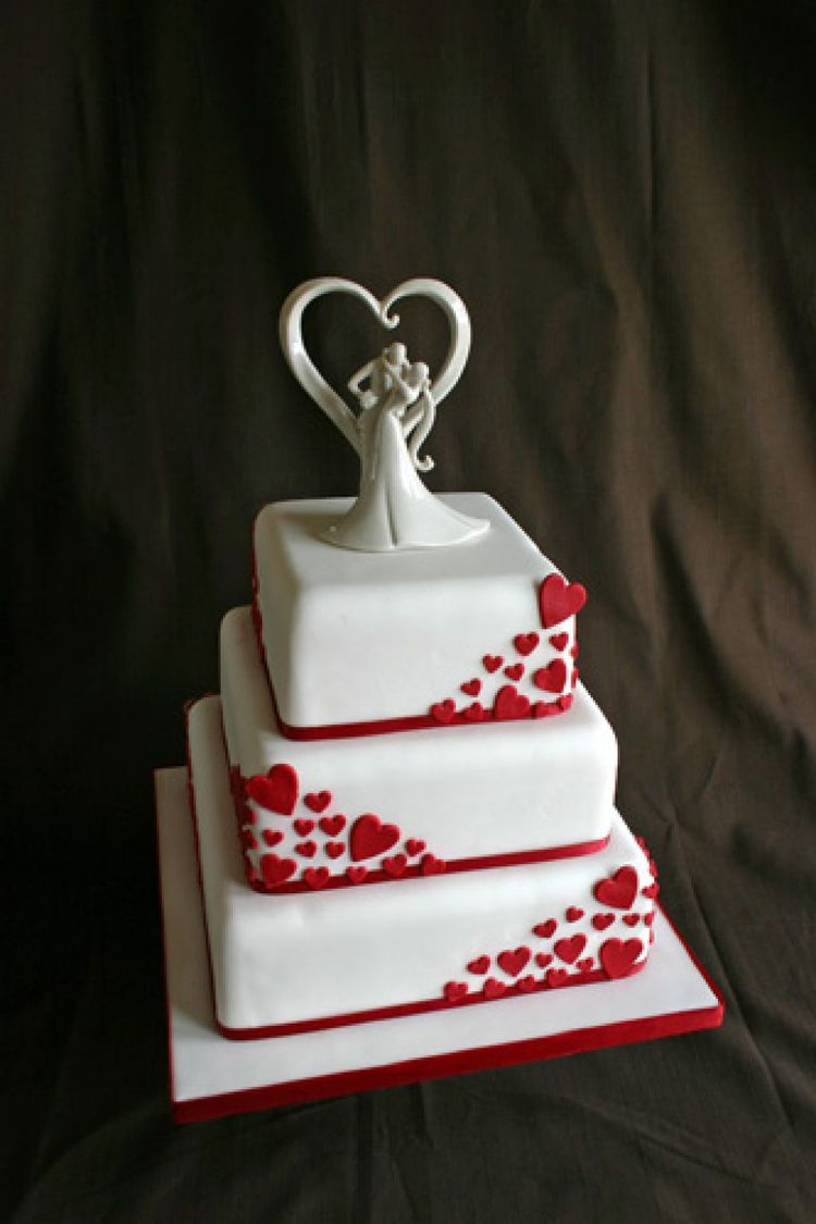 valentine s day wedding cakes valentines day wedding cake 21523