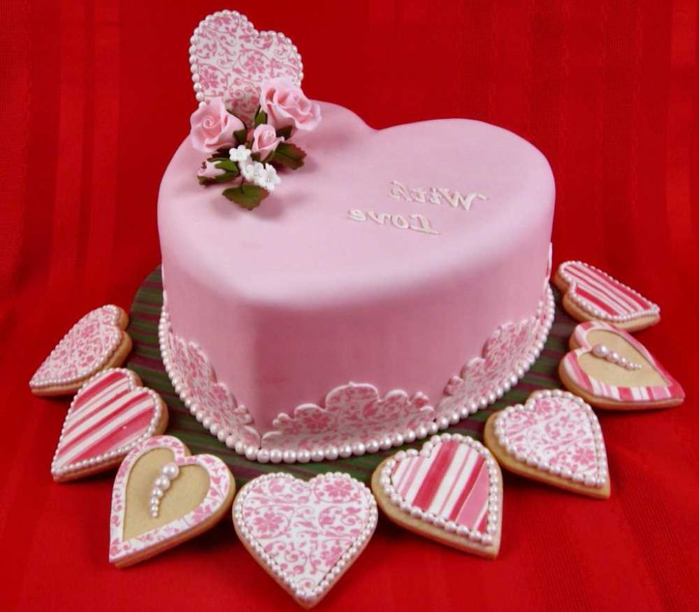 Valentineu0027s Day Cake