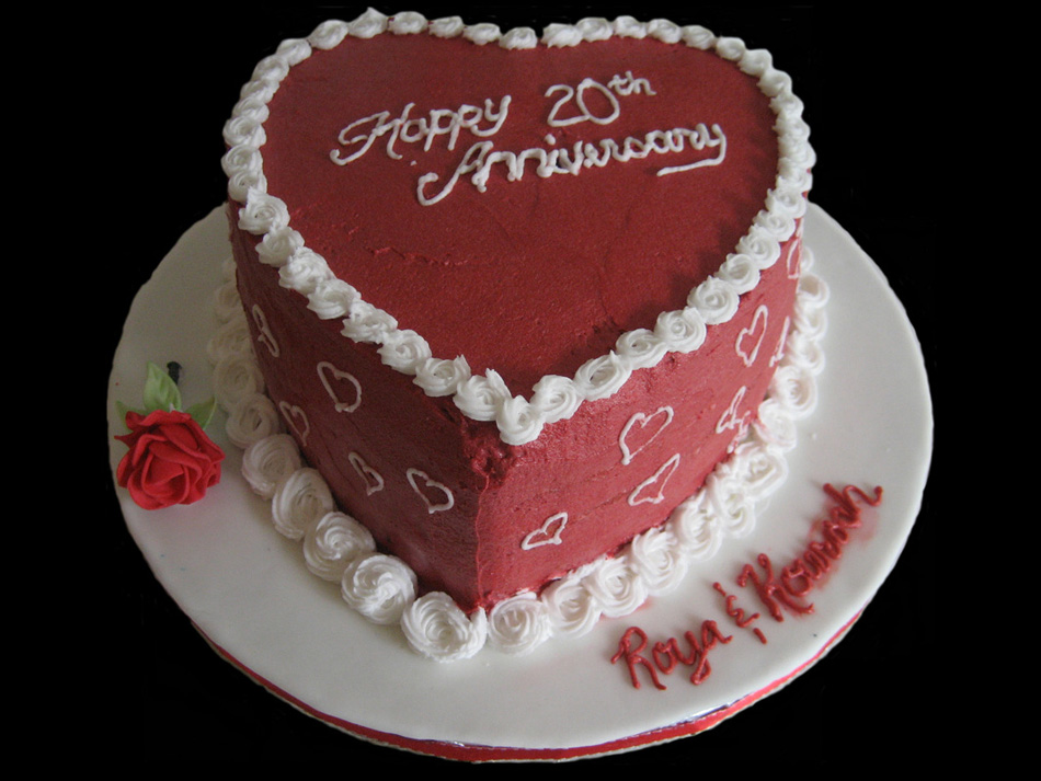 Th Wedding Anniversary Cake