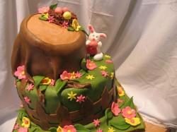 Fondant Easter cake idea
