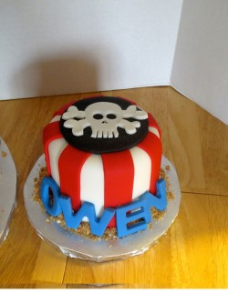 Owen pirate cake