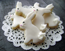 Pretty Bunnies cookies