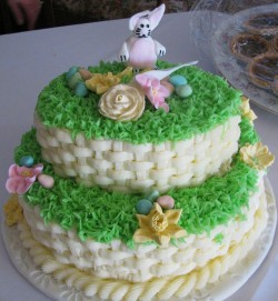 Pretty Easter cake