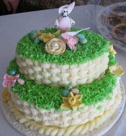 Pretty Easter cake