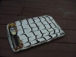 Square eclair cake