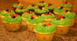 Vanilla Easter cupcakes
