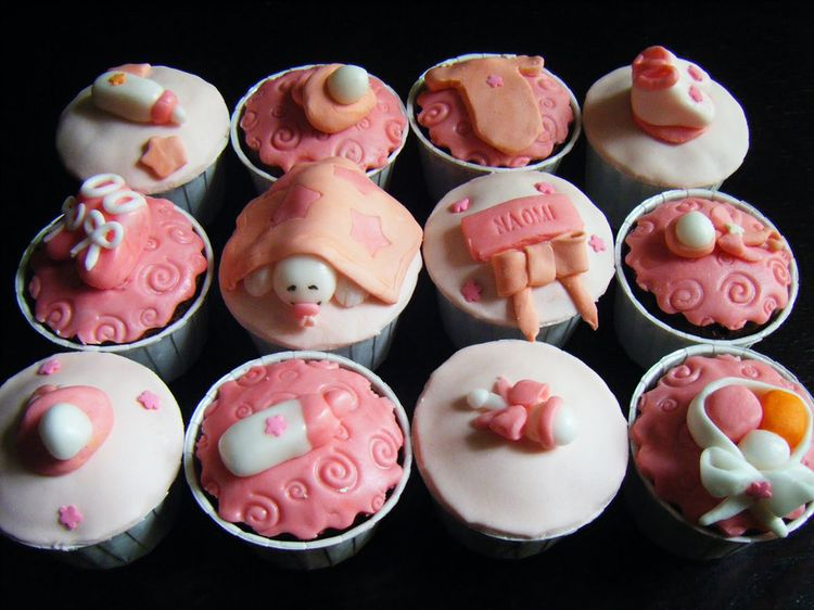 Baby Shower Cupcakes For Girl