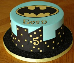 Batman cake for 5th birthday
