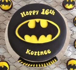 Batman cake for Cortnee
