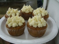 Cupcakes with carrot