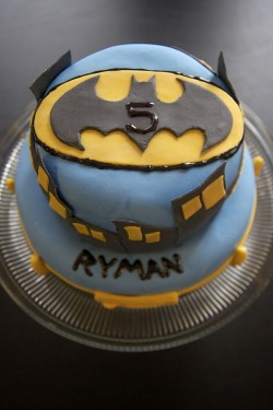 Birthday Batman cake