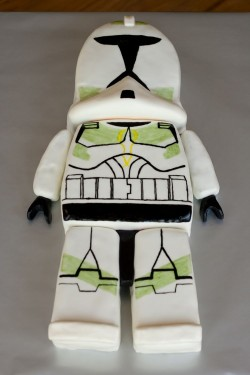 Fondant star wars cake idea
