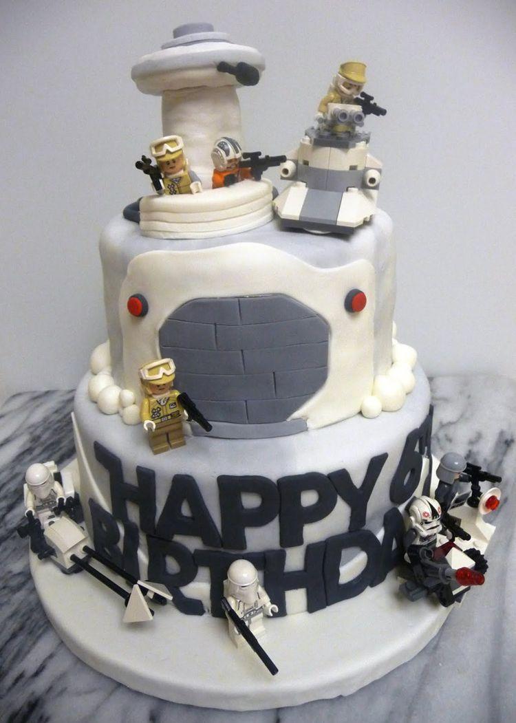 Happy Birthday Star Wars Cake