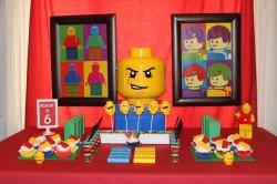 Lego cake pops for birthday