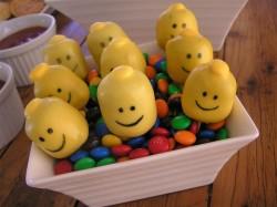 Birthday Lego cake pops