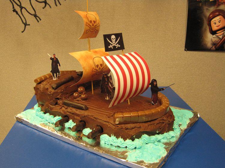 Ship Vegan Birthday Cake