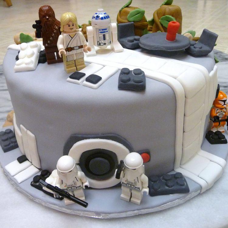 Star Wars Cake Decorations Ideas