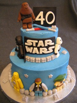 Star Wars cake for 40 birthday