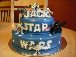 Star wars cake for Jack