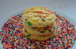 Tasty Funfetty cookies
