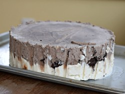 Tasty ice cream cake