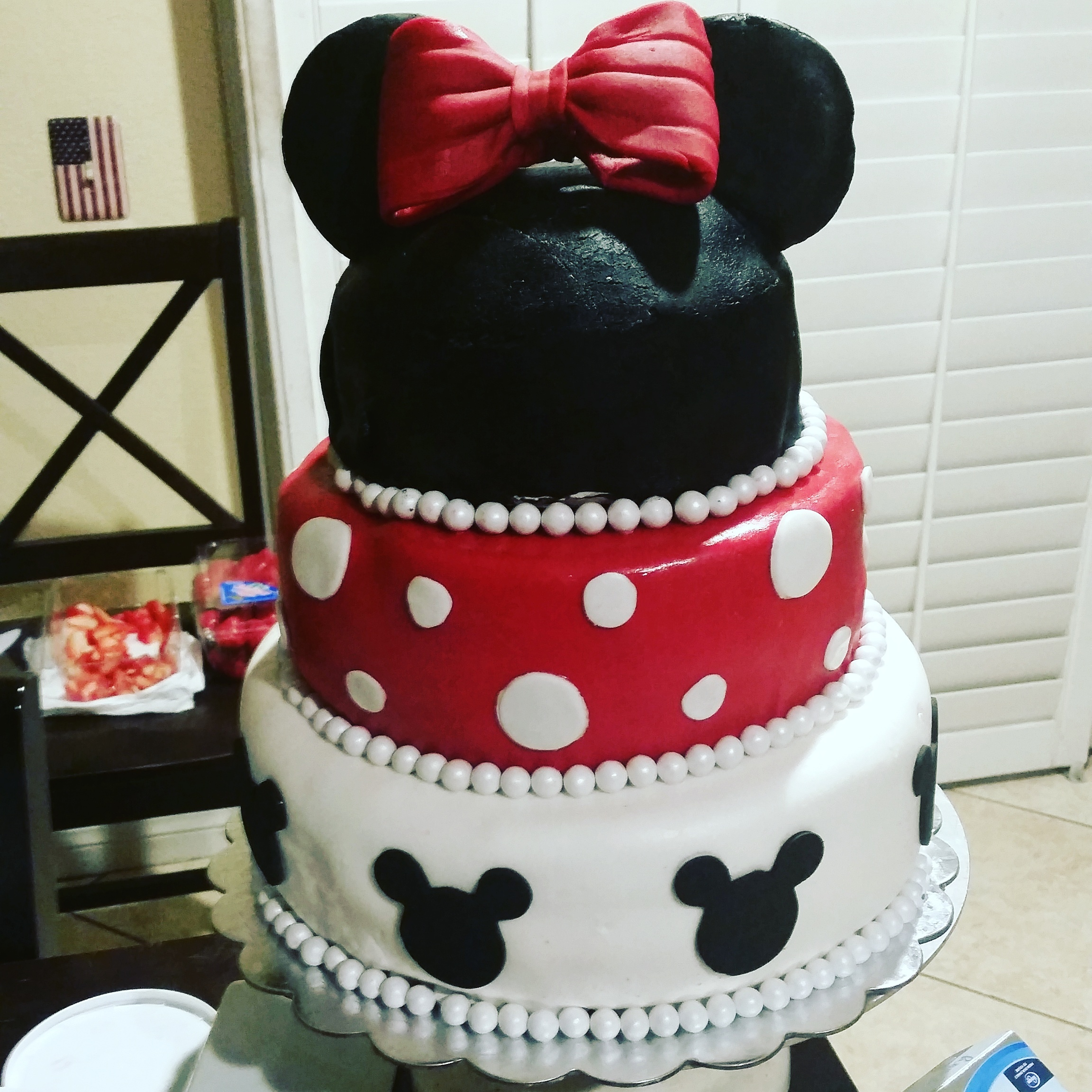 Minnie mouse cake birthday cake cute cake gotcakes want cakes