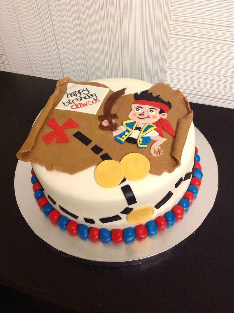 Cake Designs Pirate : Sweet pirate cake