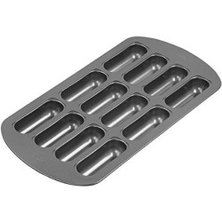 12-Cavity Delectovals Cake Pan