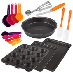 17 Piece Metal and Gadget Pans Set