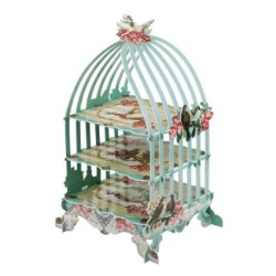 3-Tier Birdcage Patisserie Cake Stand