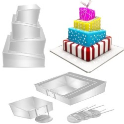 4 Tier Wedding Cake Pan