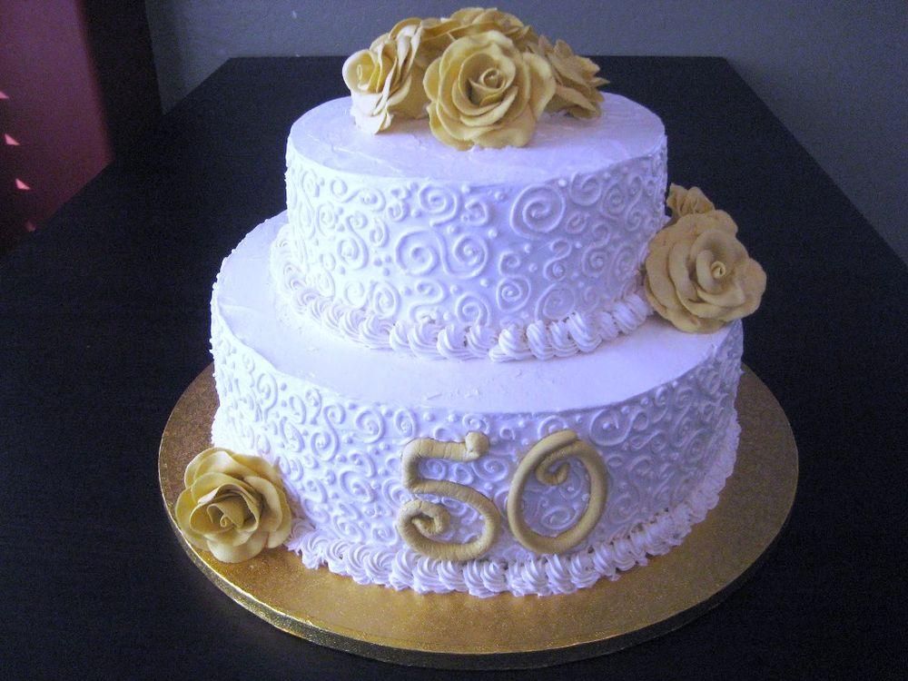 Cake Decorating Ideas Th Wedding Anniversary