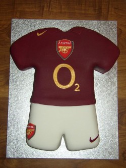 Arsenal Footbal cake