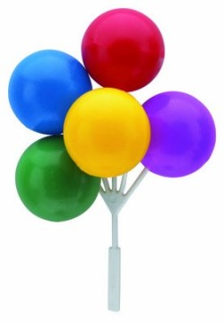 Balloon Bouquet Cluster Cake Topper