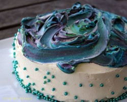 Blue Marble cake