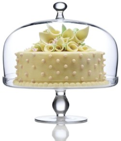 Cake Stand with Dome Cover