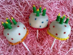 Cake Pops Birthday Cake