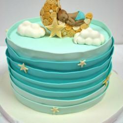 Cake – sleeping baby