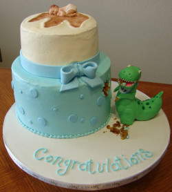 crazy baby shower cake