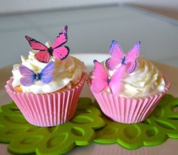 Edible Butterflies cupcakes toppers
