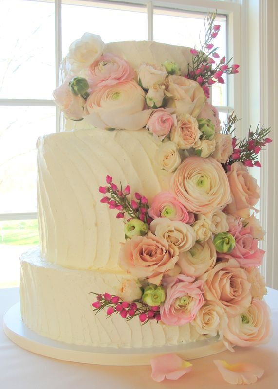 fresh flowers on wedding cakes pictures fresh flowers wedding cake 14482
