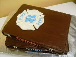 Grooms cake – books