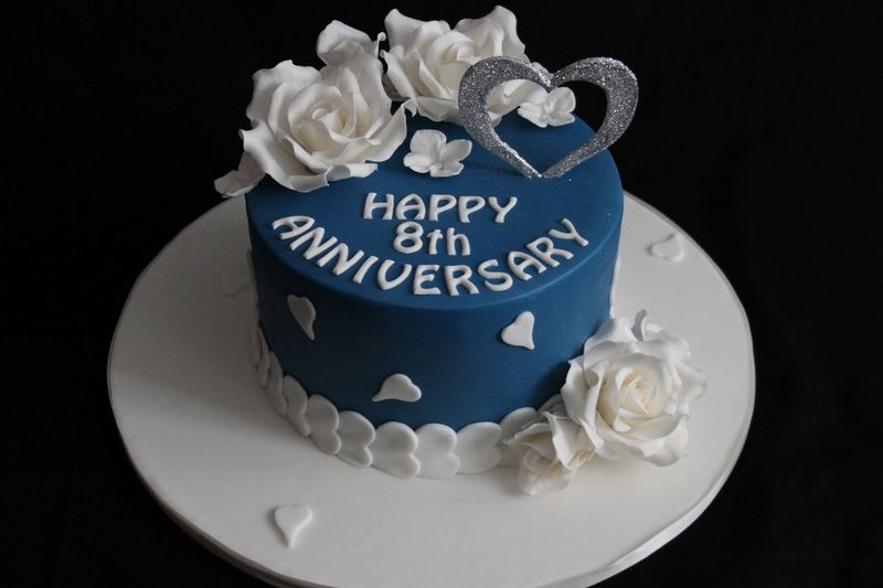 Cake Pictures For Anniversary : Happy Anniversary Cake