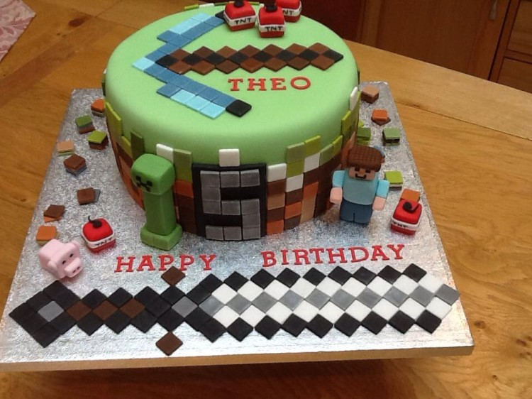 minecraft cake ideas minecraft birthday cake 5908