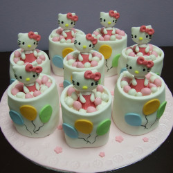 Mini Hello Kitty Cakes