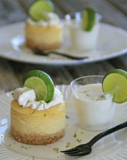 Mini Key lime cakes